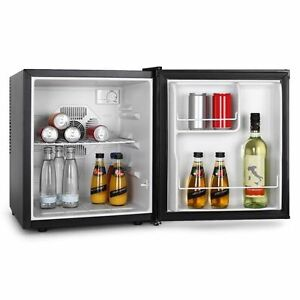 frigo silenzioso mini frigorifero compatto bar ufficio portatile piccolo nero ebay. Black Bedroom Furniture Sets. Home Design Ideas