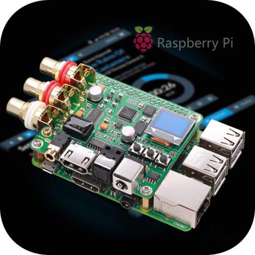 Raspberry Pi DAC Audio Decoder Board HIFI Expansion Moudle Coaxial Fiber I2S