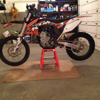 KTM 450 SXF FACTORY EDITION  2012, AMAZING BIKE, POWER ALL DAY!