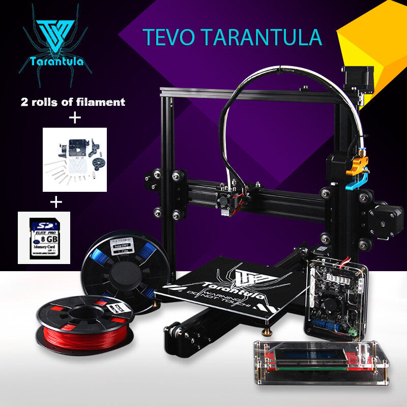 2018 Newest 3D Printer kit TEVO Tarantula I3 3d printing 2 R