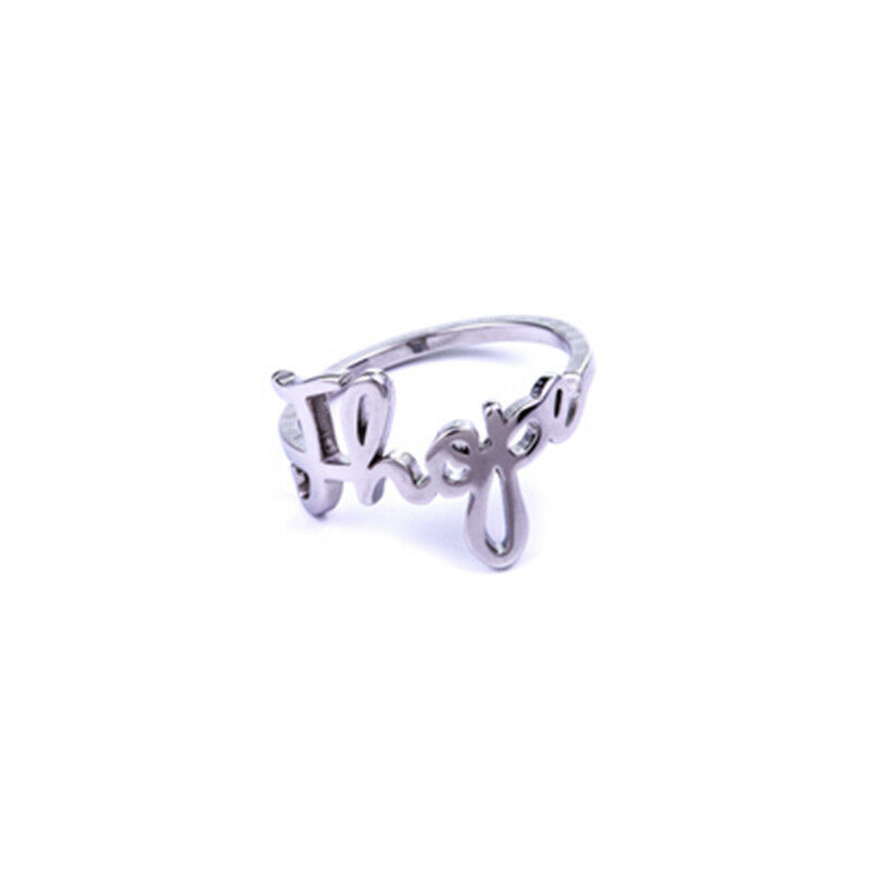 KPOP BTS Jung Kook Ring Stainless Steel Bangtan Boys Jimin V Rap Monster ARMY