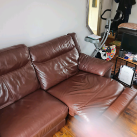 2 Seater Electric Recliner Sofa with Matching Arm Chairs