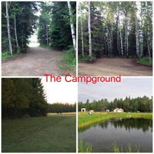 160 Acres with Campground and House