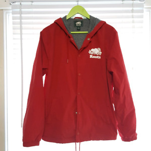 ROOTS Canada Button  Up Softshell  Windbreaker