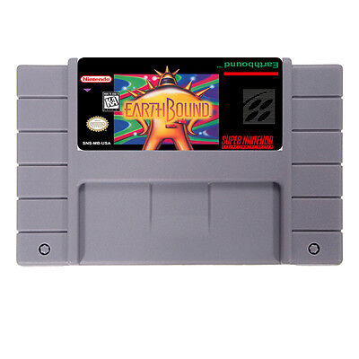 EarthBound ( SNES , 1995 ) USA version NTSC FREE SHIPPING WORLDWIDE for sale  Shipping to Canada