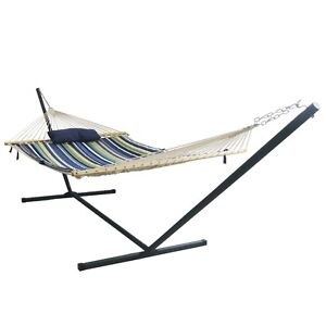 Blue Wave Island Retreat 15' Hammock Set, New