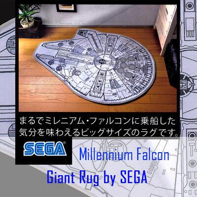 Star Wars Floor Door Mat Rug Millennium Falcon Indoor Outdoor Rug Brand New