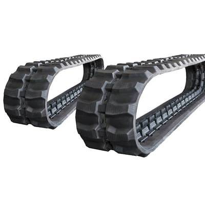 Pair Of Prowler Hanix Sb12r Rubber Tracks - 320x100x40 - 13