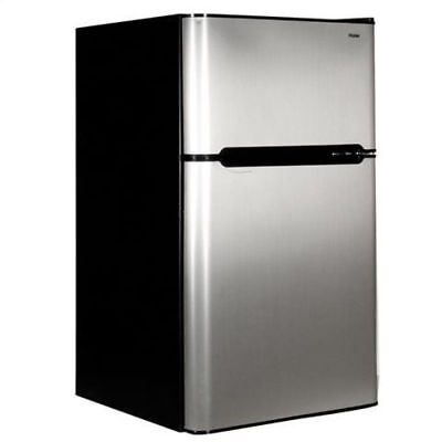 Compact Refrigerator Mini Freezer 2 Door College Home Office Dorm Fridge NEW