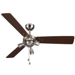 Brand new in box: Harbor Breeze exocet ceiling fan with lights