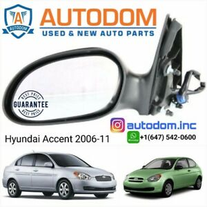 New Door Mirror Hyundai Accent 2006-11