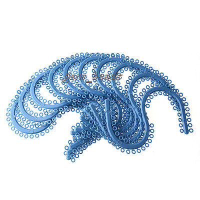 10 Packs Dental Orthodontic Separator Ties Blue Color S Style Fda 700pcspack
