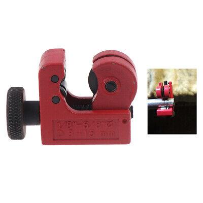 Plumbers Copper Brass Pipe Cutter 3 - 25mm Metal Plastic Mini Brake Tube Sli Ru
