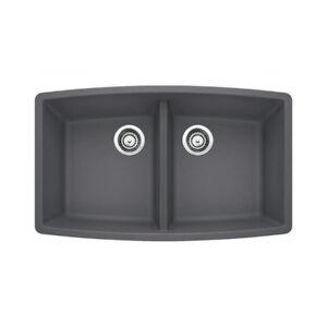 Blanco 401419 Performa U 2 Double Undermount Kitchen Sink