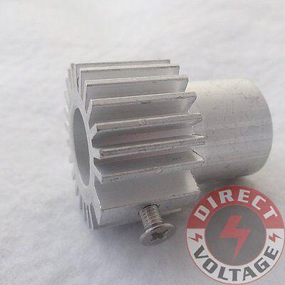 2pcs Cooling Heatsink Heat Sink For 12mm Laser Diode Module - Silver