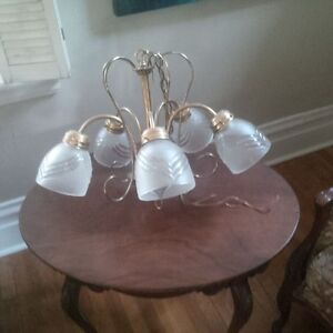 Antique Solid Brass Dining Room Fixture