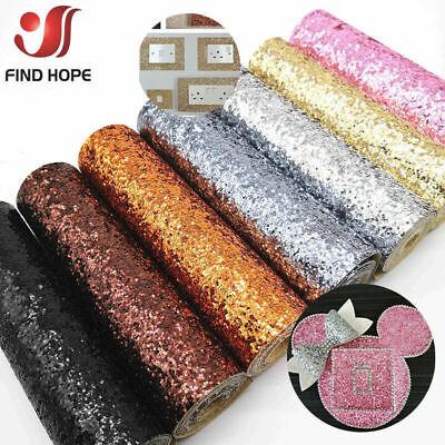 Selbstklebende Chunky Glitter Stoff Vinyl 3D Wallpaper Stair Border Sticker Roll