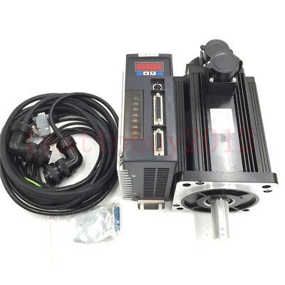 6nm 1.5kw Ac Servo Motor Drive 6.0a 220v 2500rmin Nema52 Cnc Medical Apparatus
