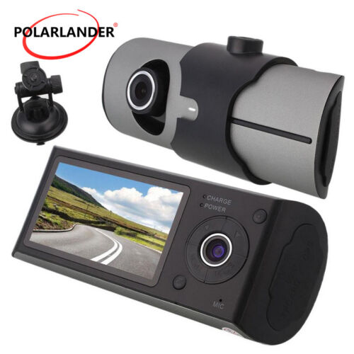 Car DVR Caméra  Dash Cam Enregistreur Vidéo  Nuit Vision Dual Lens GPS 1080P