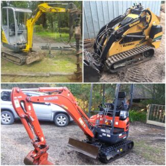 Excavator hire from $140.00 perday cheapest guaranteed