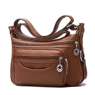 - Women's Casual Purse Shoulder Soft Leather Handbags Satchel Bags Cross Body Bags