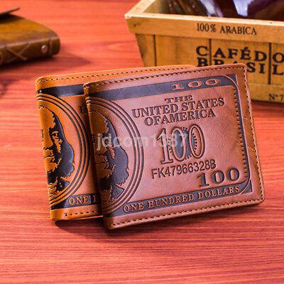 Slim Thin Bifold Money Cash Men's Wallet Front Pocket Credit Card Case Holder UK Slim Card Case