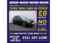 Audi A6 Avant 2.0TD ( 177ps ) 2013MY Black Edition FROM £75 PER WEEK