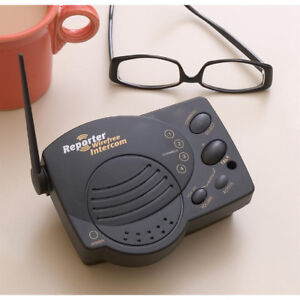Chamberlain Wireless portable Intercom 4-Chanel WoW !