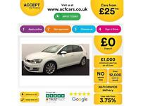 Volkswagen Golf 1.4 TSI ( 122ps ) DSG 2009MY SE FROM £25 PER WEEK!
