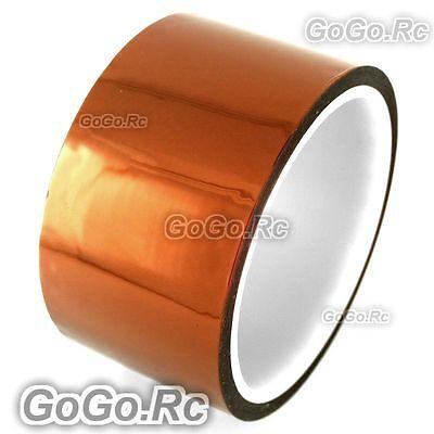 50mm 5cm X 30m Kapton Tape High Temperature Heat Resistant Polyimide F019-50