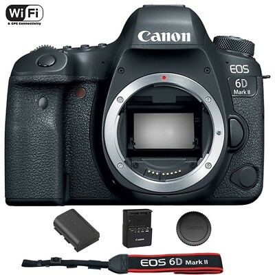 Canon EOS 6D Mark II / MK 2 Digital SLR Camera (Body) Brand New