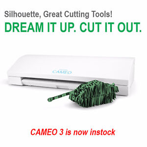 NEW Silhouette CAMEO 3 dual-carriage Bluetooth new AutoBlade