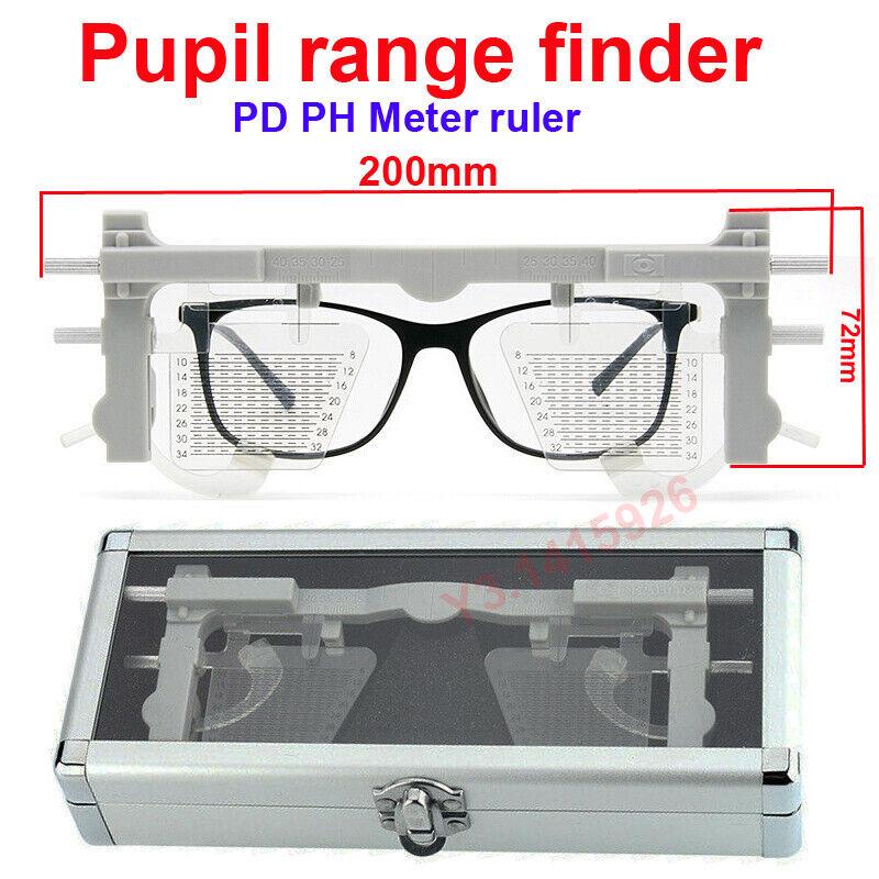 PD PH Meter Ruler Multi-Focus Pupilometers Distance Ruler for Glasses optometry