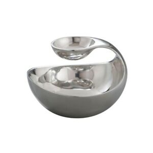 Nambe Scoop Serving Bowl