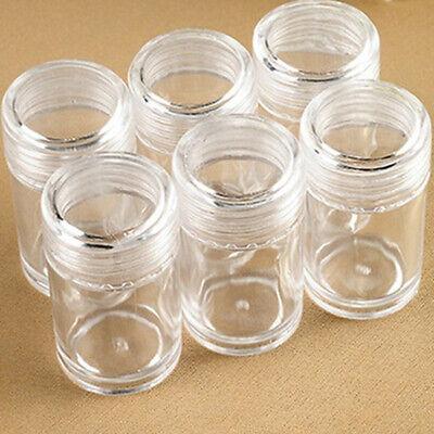 Paint Storage Containers (60Pcs Transparent Diamond Painting Beads Storage Bottles Beads Storage)
