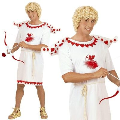 Liebesbote Glücksbote Amor Engel Herren Kostüm Gr. S (46) Karneval Fasching (Amor Engel Kostüm)