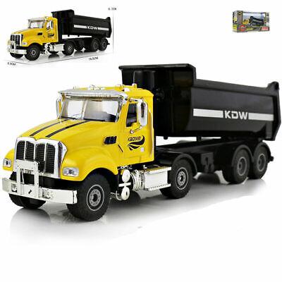 KDW 1:50 Scale Diecast Dump Truck Construction Truck Vehicle Car Model Toy