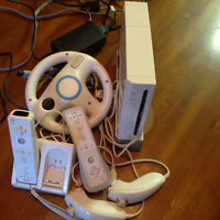Wii console full set