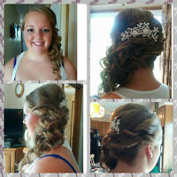 Travelling Hairstylist for Wedding Parties!