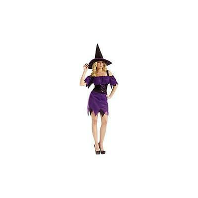 Fun World Dark Witch Adult Womens Halloween Costume Medium-Large 10-14 ](Dark Witch Costume)