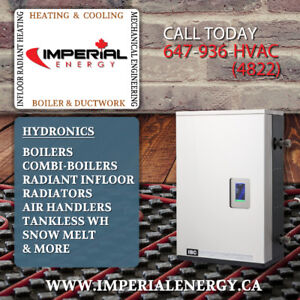 HYDRONICS COMBI BOILERS  INFLOOR RADIANT HEATING & MORE