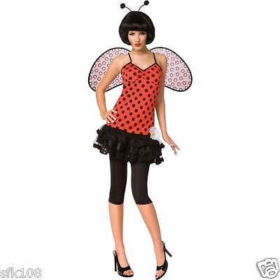 Halloween Costume Lady Bug Adult Costume, Size XS (2-4) - Lady Bug Costume Adult