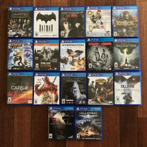 Playstation 4 PS4 - Jeux / Games