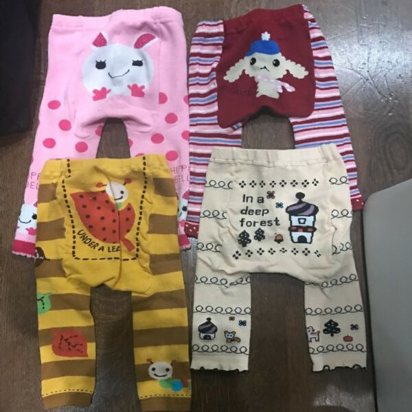 Girl legging 1 - 3 years winter