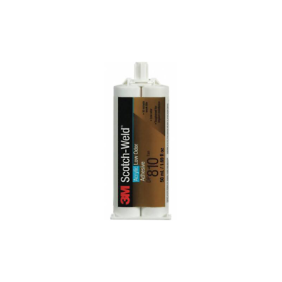 3M™ Scotch-Weld™ Low Odor Acrylic Adhesive DP810, Black,
