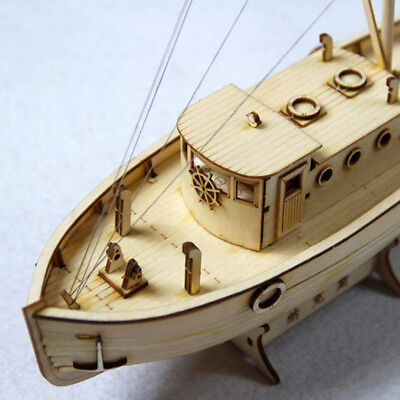 (1:50 Ship Assembly Model DIY Kits Wooden Sailing Boat Scale Decoration Toy Gift)