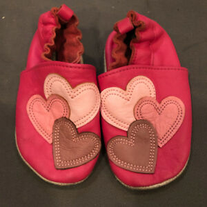 18-24m Joe Fresh Soft Soled Shoes & hand made Slippers