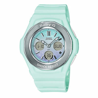 BGA-100ST-3A Baby-G Lady Watches Analog Digital Casio Resin