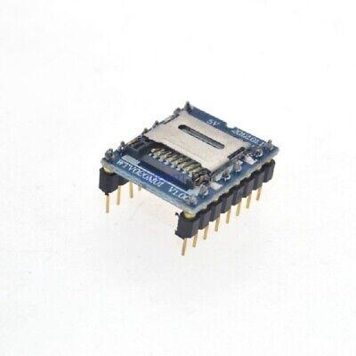 U Disk Sd Card Audio Player Mp3 Sound Tf Voice Module Wtv020-sd-16p Arduino Mcu