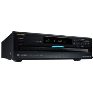 Onkyo DXC390 6-Disc CD Carousel Changer New out of Box